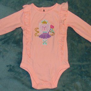 new pink onesie for baby girls